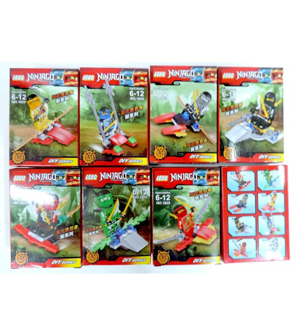 Дитячі конструктори LeBo Ninjago 8 mini GA17-1