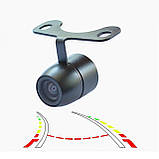 Камера заднего вида A-170 бабочка (автомобильная автокамера для парковки с креплением в бампер), фото 2