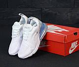 Женские кроссовки Nike Air Max 270, найк аир макс 270, фото 4