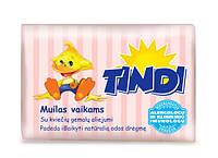 Детское мыло Tindi c маслом зародышей пшеницы 90 гр