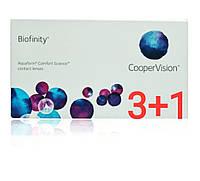 Контактные линзы Biofinity 4 шт
