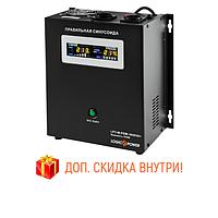 UPS для котла с правильной синусоидой й LPY-W-PSW-1000VA+ (700W) 10A/20A 12V