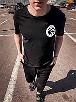 Черная мужская футболка, фото 1