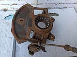 Поворотный кулак передний правый (Цапфа) Nissan Almera N16 , фото 5
