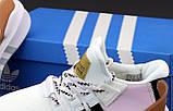 Женские кроссовки Adidas EQT в стиле Адидас Эквипмент БЕЛЫЕ РОЗОВЫЕ (Реплика ААА+), фото 5