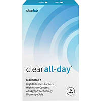 Контактные линзы Clearlab Clear All-day (Упаковка 6 шт) +2.5