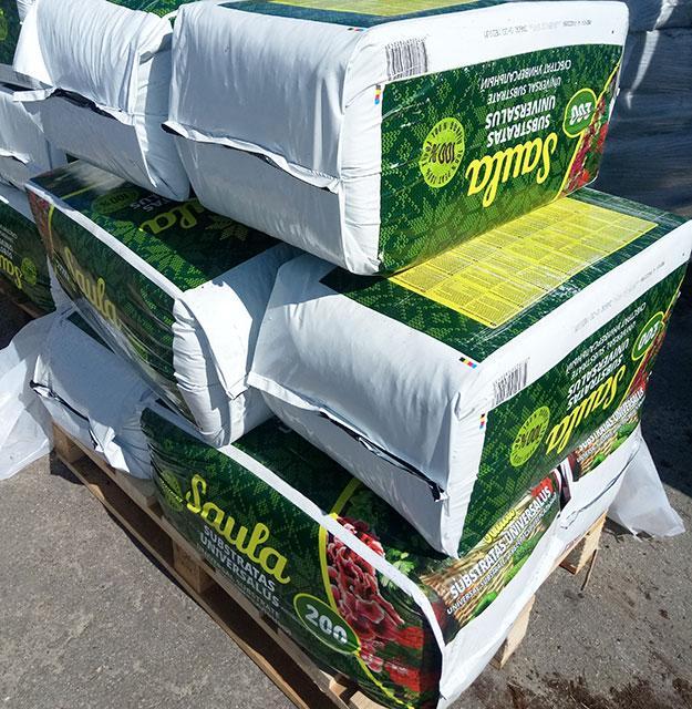 Профессиональные субстраты для растений Rekyva (Литва), уже на складе!