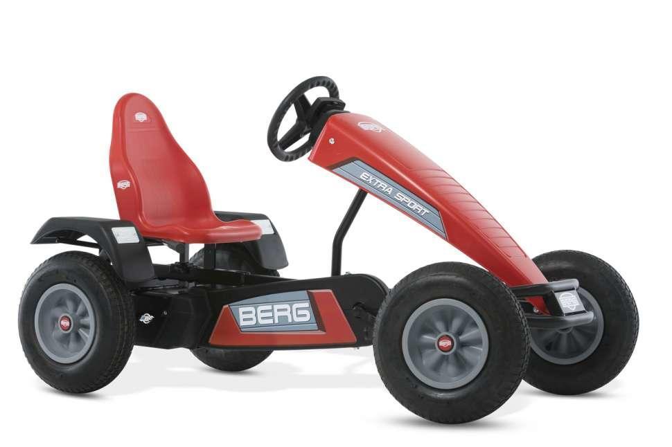 Веломобиль детский Berg Extra Sport Red BFR, от 5 лет (07.10.12.00)