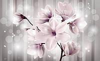 Фотообои 3D 368х254 см Магнолия фиолетовая (3479CN)