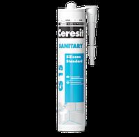 Герметик силиконовый санитарный белый Ceresit CS-15 280 мл