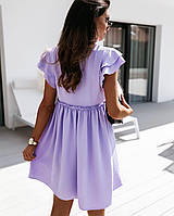 Платье женское летнее белое, лиловое, бежевое, 42-44, 46-48