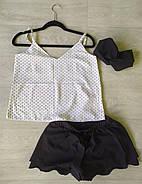 Пижама женская майка шорты, фото 2
