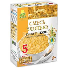 """Пластівці Суміш 5-злаків """"Терра"""" 0,8 кг"""