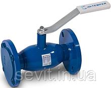 Кран шаровый стальной стандартнопроходной фланцевый Temper (Эстония) DN15 PN40, арт. 28320015