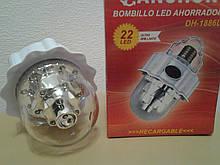 Потужна світлодіодна лампа з акумулятором