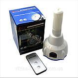 Универсальная светодиодная лампа-фонарь с аккумулятором и пультом, фото 2