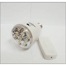 Потужна світлодіодна лампа з акумулятором і пультом