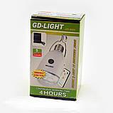 Потужна світлодіодна лампа з акумулятором і пультом, фото 3