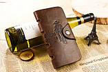 Портмоне-клатч чоловіче шкіряне CarWallet Карвалет, фото 3