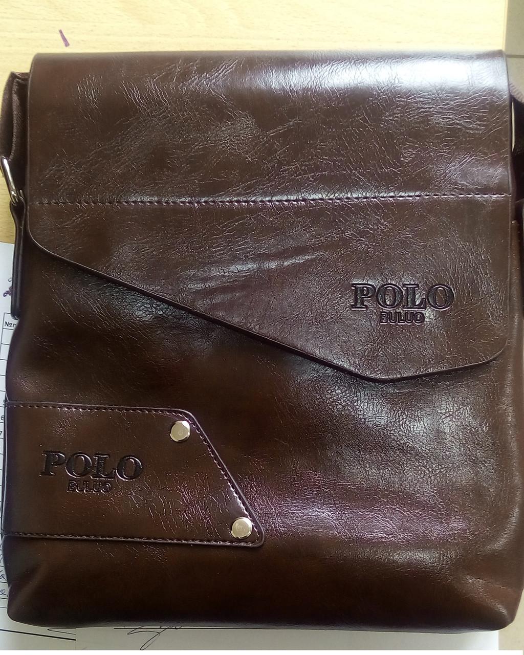 Чоловіча сумка POLO BULUO? коричнева