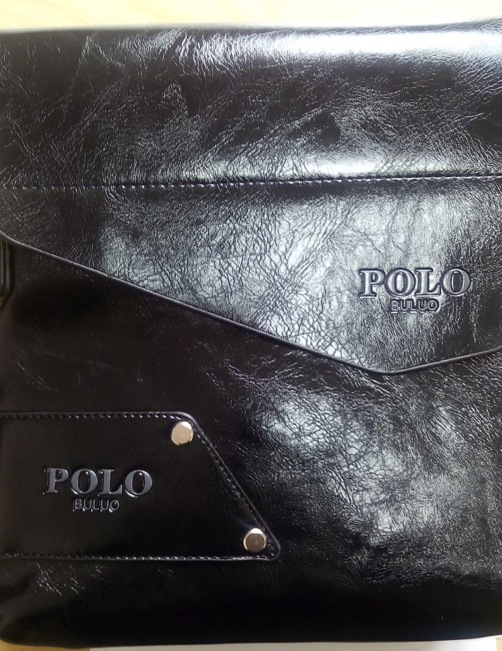 Чоловіча сумка POLO BULUO, чорна