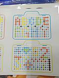 Конструктор-мозаика Creative Portable Box с шуруповертом, фото 5