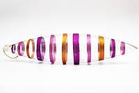 Большая елочная игрушка - сосулька, 48 см, пластик, прозрачный (110278-5)