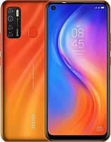 "Смартфон Tecno Spark 5 Pro (KD7) 4/64GB Dual Sim Spark Orange (4895180756054); 6.6"" (1600х720) IPS / MediaTek Helio P22 / ОЗУ 4 ГБ / 64 ГБ встроенной"