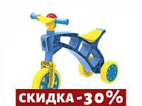 Каталка Ролоцикл синий