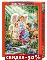 Пазлы Ангелы и оленята, 1500 эл