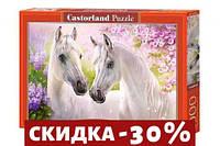 Пазлы Влюблённые лошади, 1000 элементов
