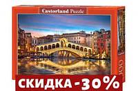 Пазлы Мост Риалто, Венеция, Италия, 1000 элементов