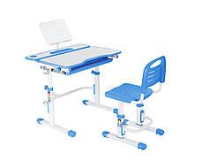 Эргономический комплект Cubby парта и стул-трансформеры Botero Blue, фото 2