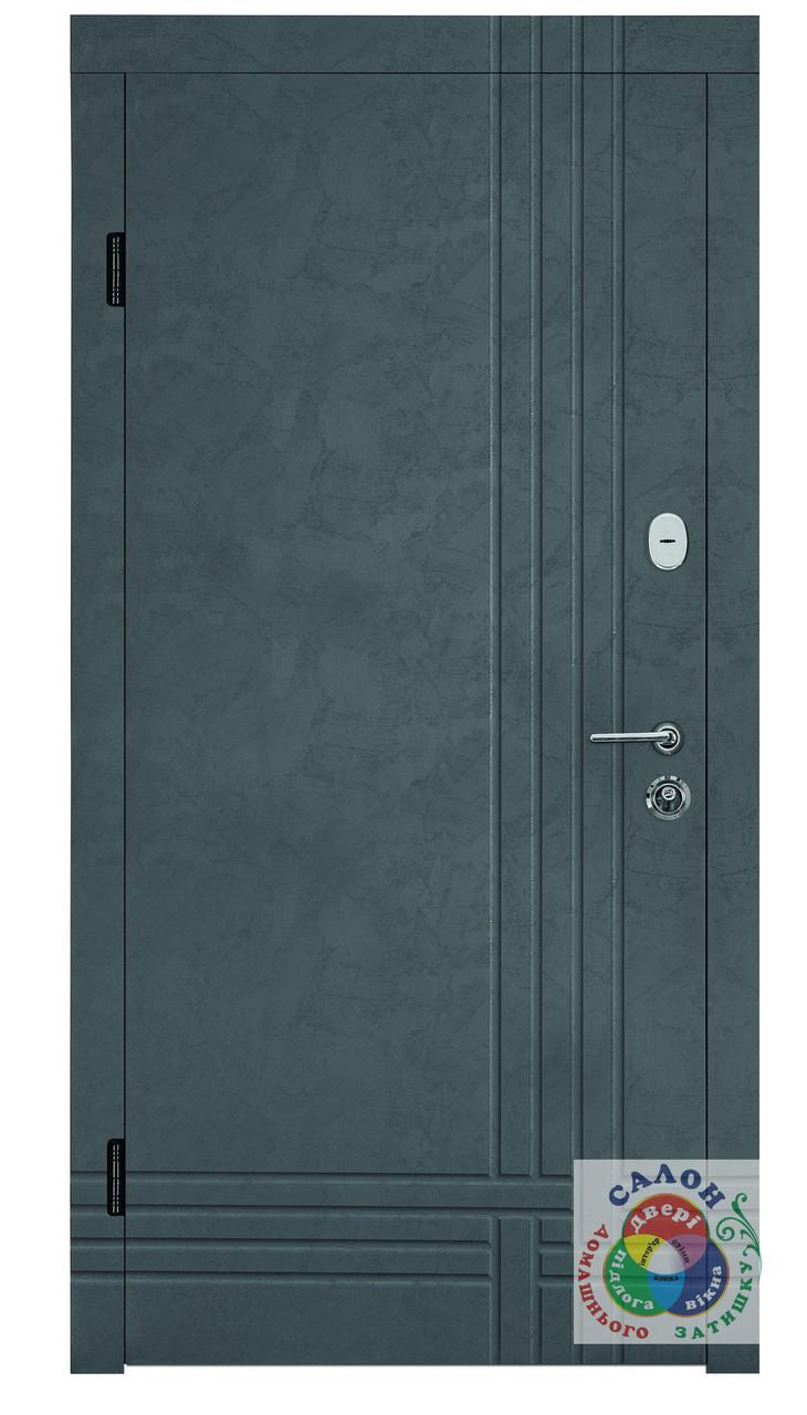 Металеві двері з мдф накладками Портала Британіка 2, серія Тріо