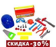Набор инструментов Юный плотник (оранжевый) -2