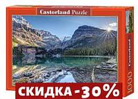 Пазлы Прозрачное озеро, Lake O'Hara, Canada, 1000 эл