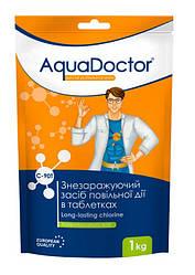 Дезинфектант на основе хлора длительного действия таб. 200 грамм AquaDoctor C-90T (1кг)