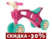 Каталка Ролоцикл (розовый)