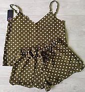 Молодежная пижама майка шорты, фото 2