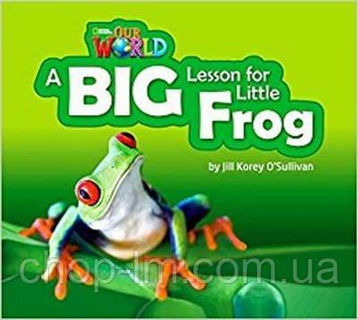 Our World Big Book 2: A Big Lesson for Little Frog. Автор: O'Sullivan, J. K. / Книга для чтения / NGL, фото 2