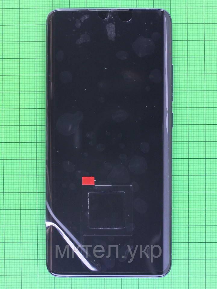 Дисплей Xiaomi Mi Note 10 с сенсором, корпусом черный Оригинал #56000300F400