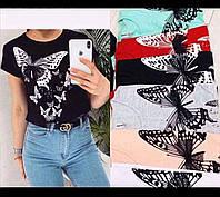 Женская футболка (производство Турция) от 100шт