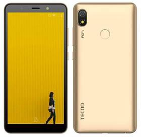 """Tecno POP3 (BB2) 1/16Gb DS Champagne Gold 5.7"""" RAM: 1 Mb ROM:16Gb Quad-Core смартфон техно UA UCRF смартфон"""