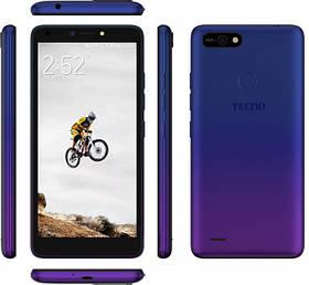 """Tecno POP2F (B1f) 1/16Gb DS Dawn Blue 5.45"""" RAM: 1 Mb ROM:16Gb Quad-Core смартфон техно UA UCRF смартфон техно"""