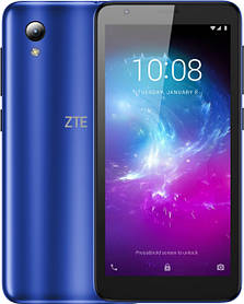 "ZTE Blade L8 Blue 4,95"" IPS RAM:1Gb. ROM: 16Gb Quad Core смартфон зте"