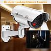Набор 2шт. Муляж камеры видеонаблюдения Dummy IR CCD Camera с ИК-подсветкой NX, фото 8