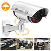 Комплект 4шт. Муляж камеры видеонаблюдения Dummy IR CCD Camera с ИК-подсветкой NX, фото 8