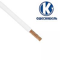 Медный гибкий провод ПВ3 10 мм2 ОдесКабель белый установочный монтажный силовой шнур | кабель одножильный