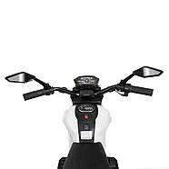 Мотоцикл детский M 4267EL-1-3 белый с красным Гарантия качества Быстрая доставка, фото 5