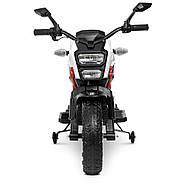 Мотоцикл детский M 4267EL-1-3 белый с красным Гарантия качества Быстрая доставка, фото 2